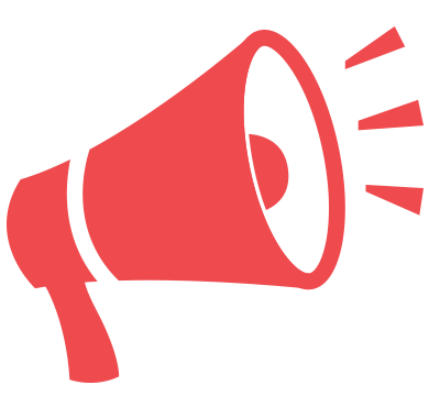 Red megaphone png. Office of talent development