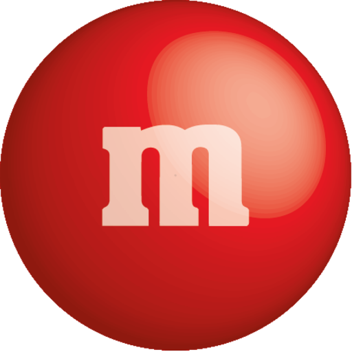 Red m&m png. M s by carlos