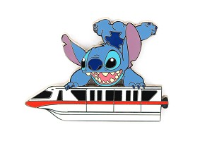 Red monorail. Rare stitch on le