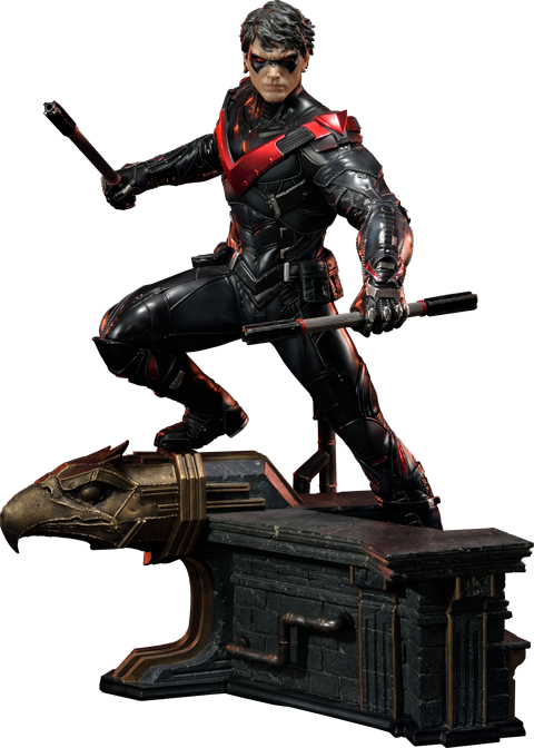Red nightwing png. Pre order version by
