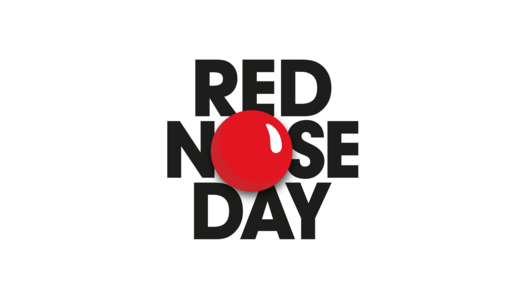 Red nose day png. American school participates in