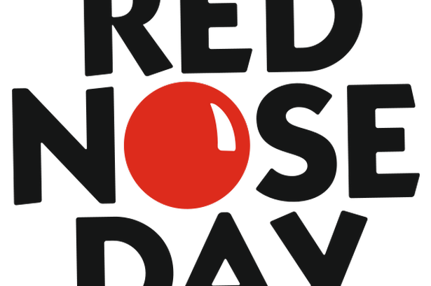 Red nose day png. Schools can join fun