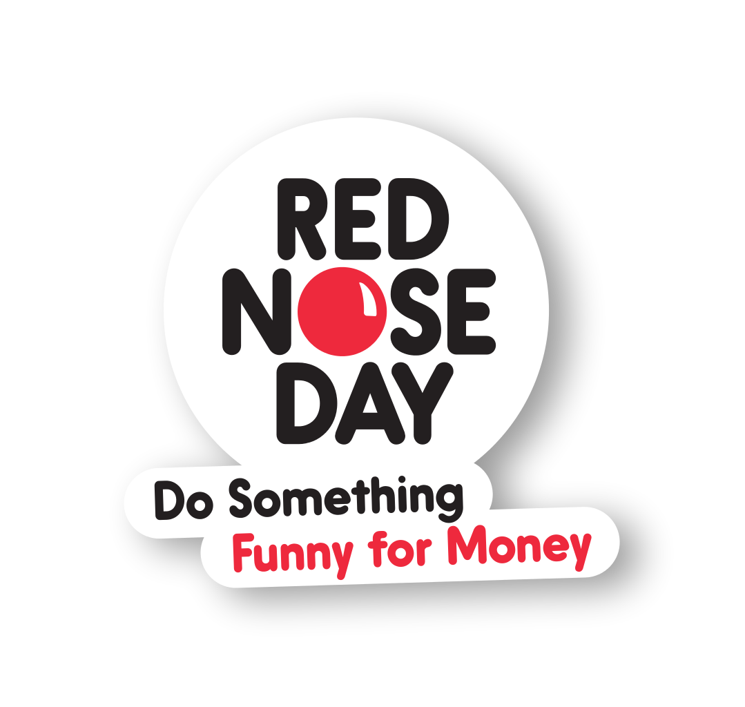 Red nose day png. Aviously