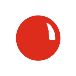 Red nose png. Day support campaign twibbon