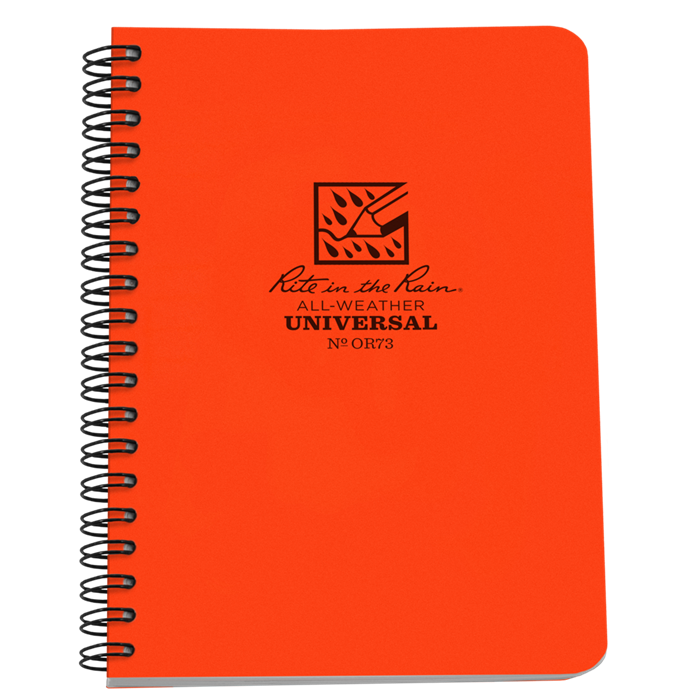 Red notebook png. Rite in the rain