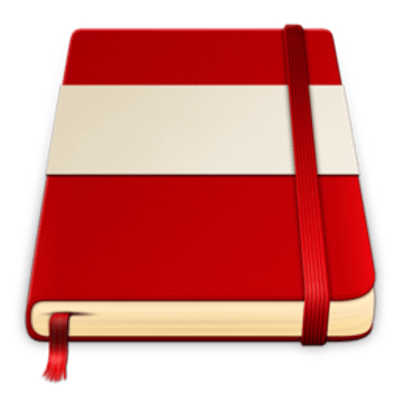 Red notebook png. And pencil transparent stickpng