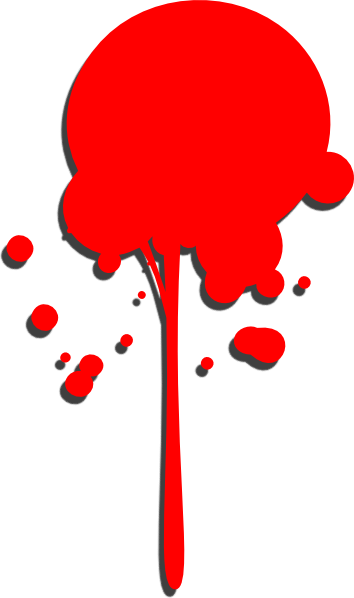 Paint drop png. Red clip art at
