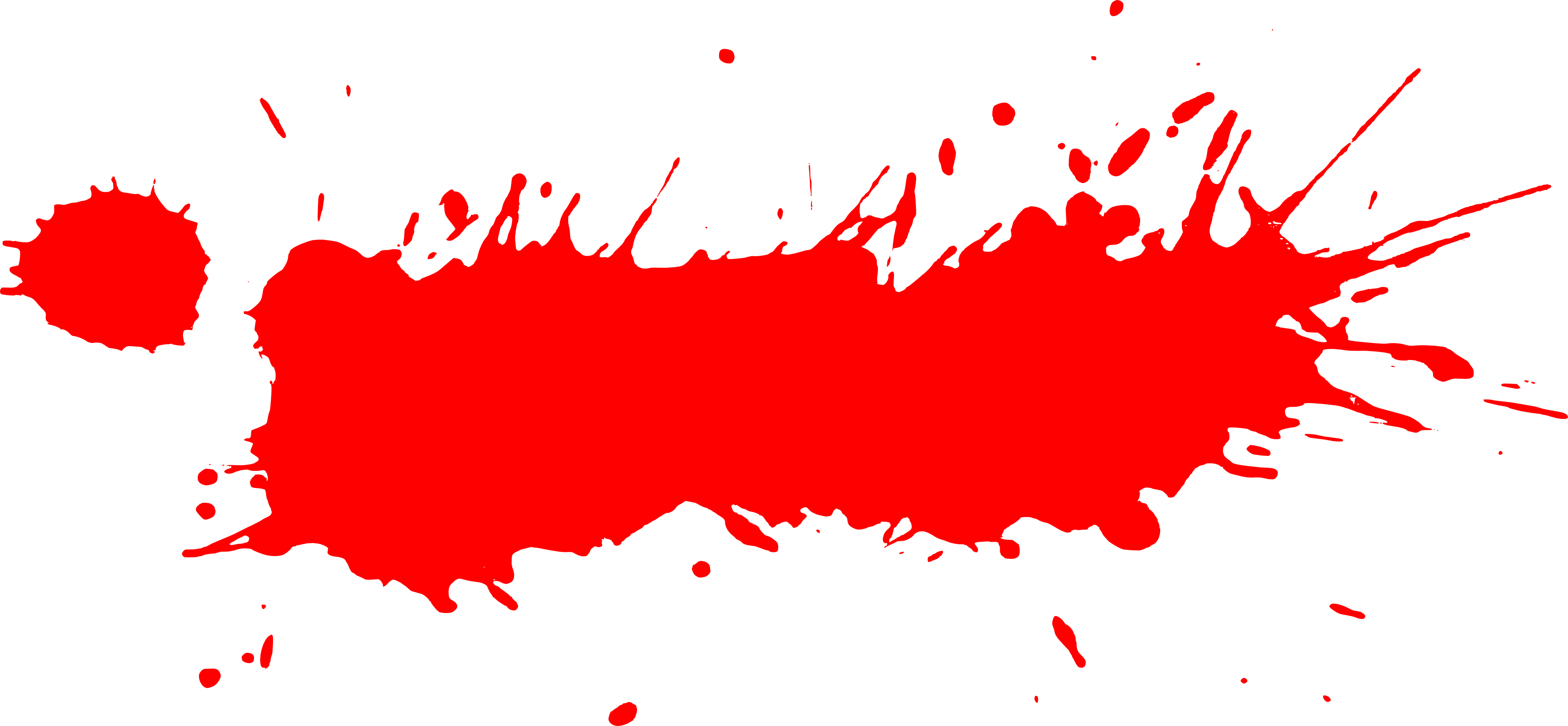 Splash of paint png. Free photo red splats
