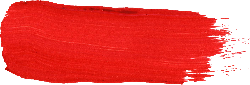 Red paint stroke png. Brush transparent onlygfx