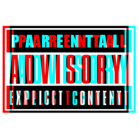 Red parental advisory png. Transparent pictures free icons