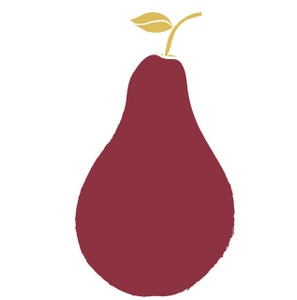 Red pear. Free cliparts download clip