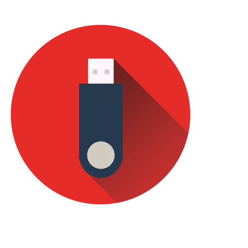 Red pen circle png. Pendrive icon transparent svg