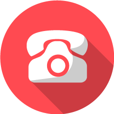 Red phone icon png. Free download call chat