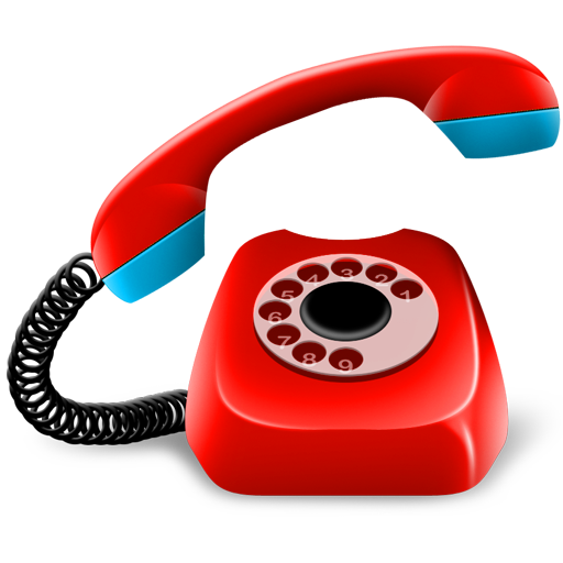 red telephone png