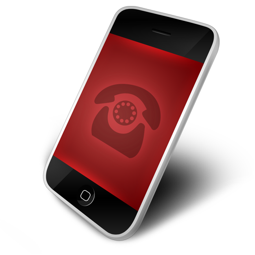 Red phone icon png. Iconfinder by download