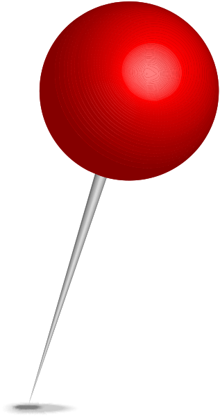 Pins vector red. Pin transparent png pictures