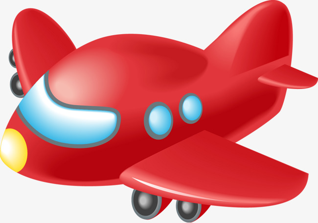 Red plane. Clipart aircraft png images