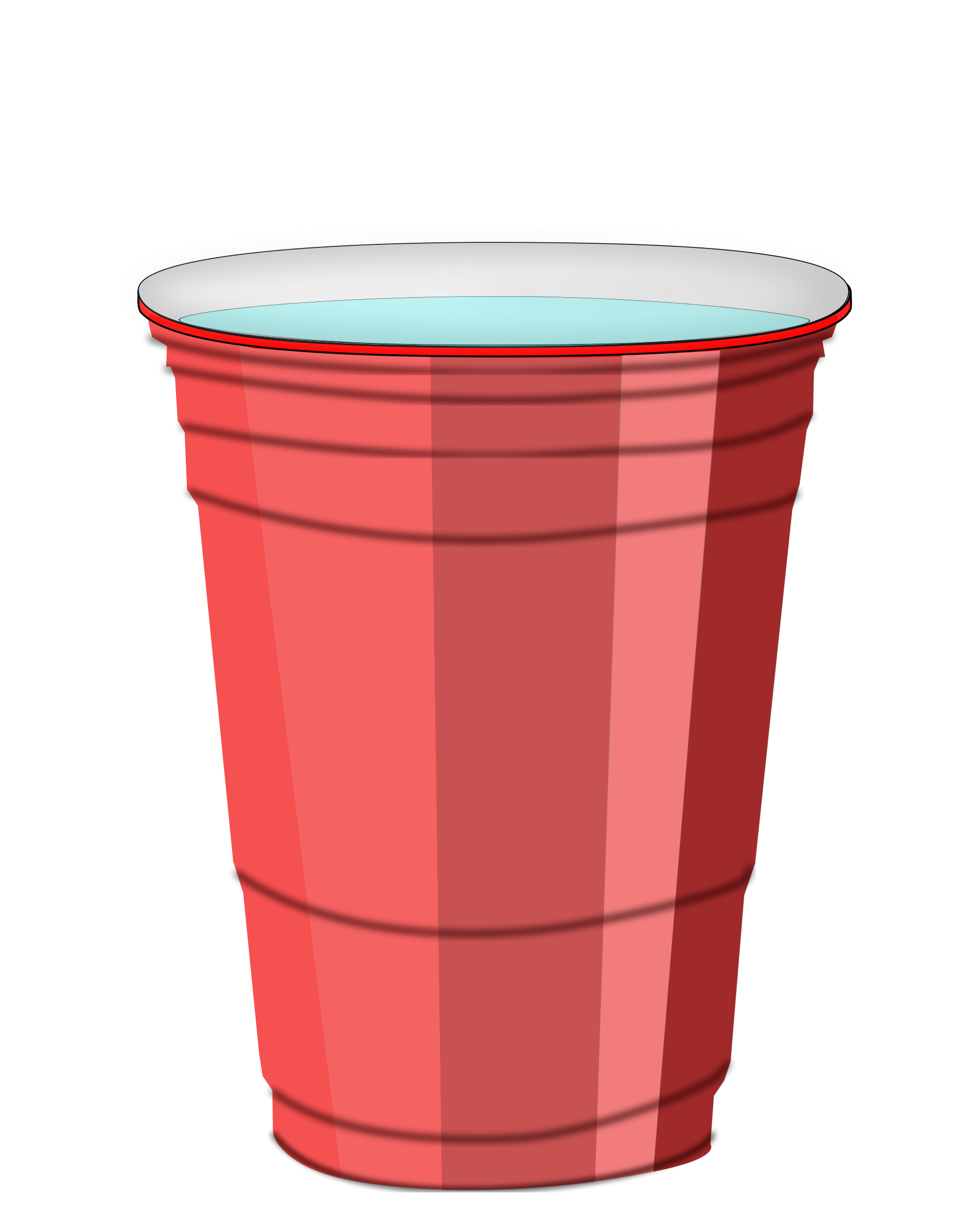 Red plastic cup png. Collection of clipart