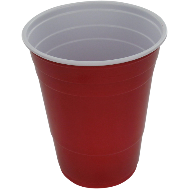 Red plastic cup png. Depa drinking ps ml