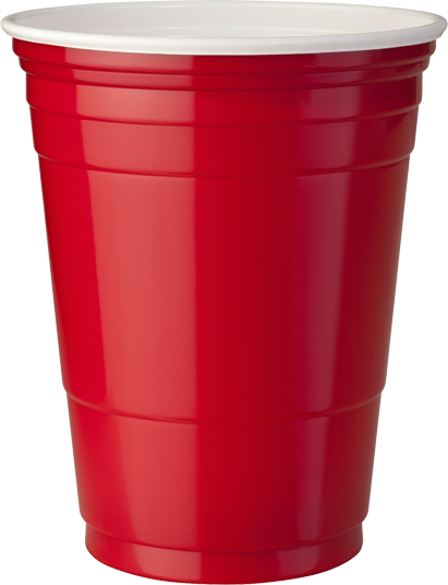 Red plastic cup png. School overturned on instagram