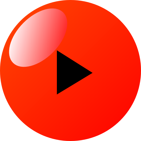 Red play button png. Clip art at clker