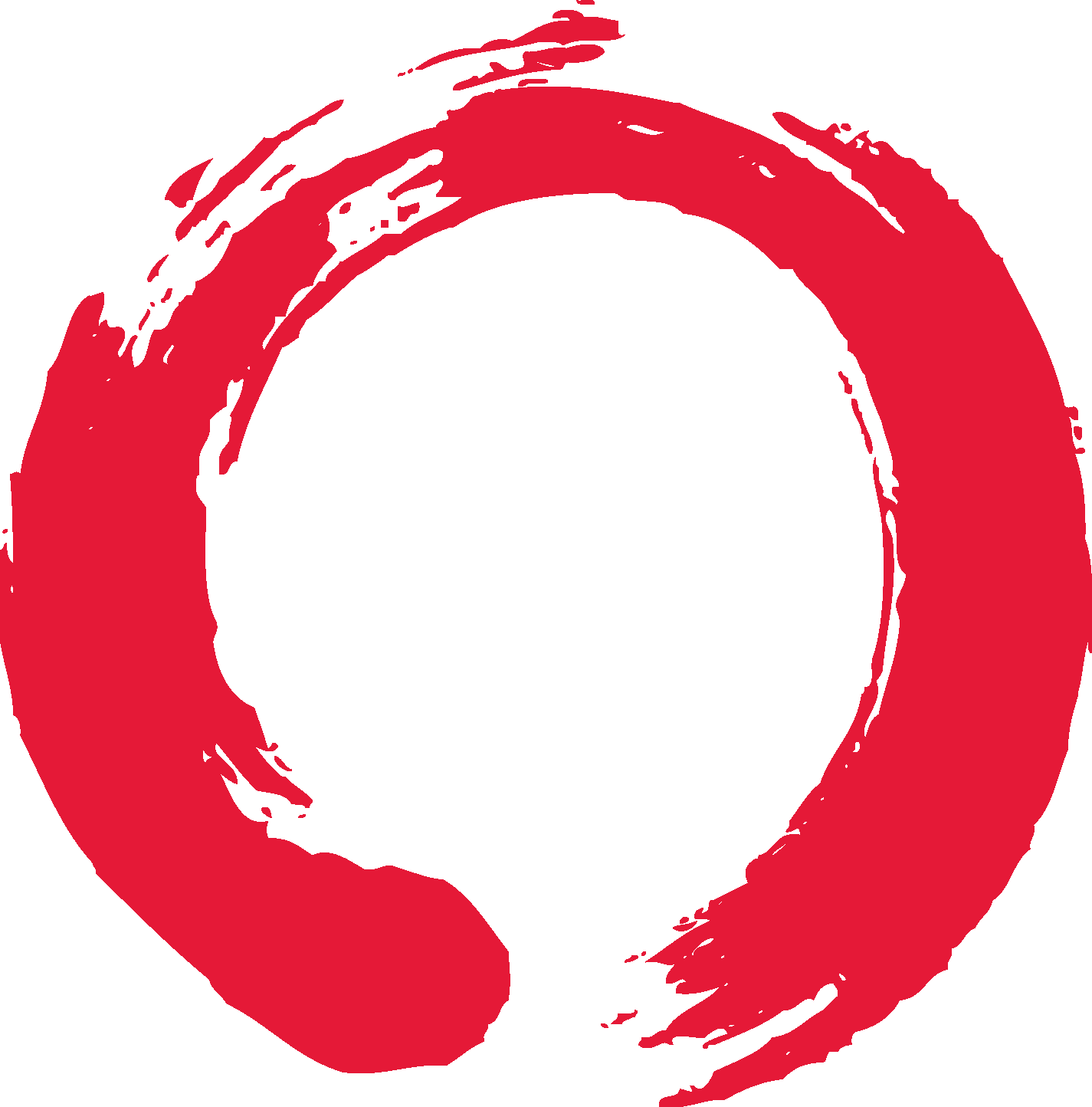 Red png circle. New for making a