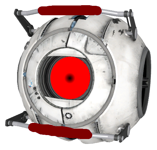 Red portal png. Image anger core by