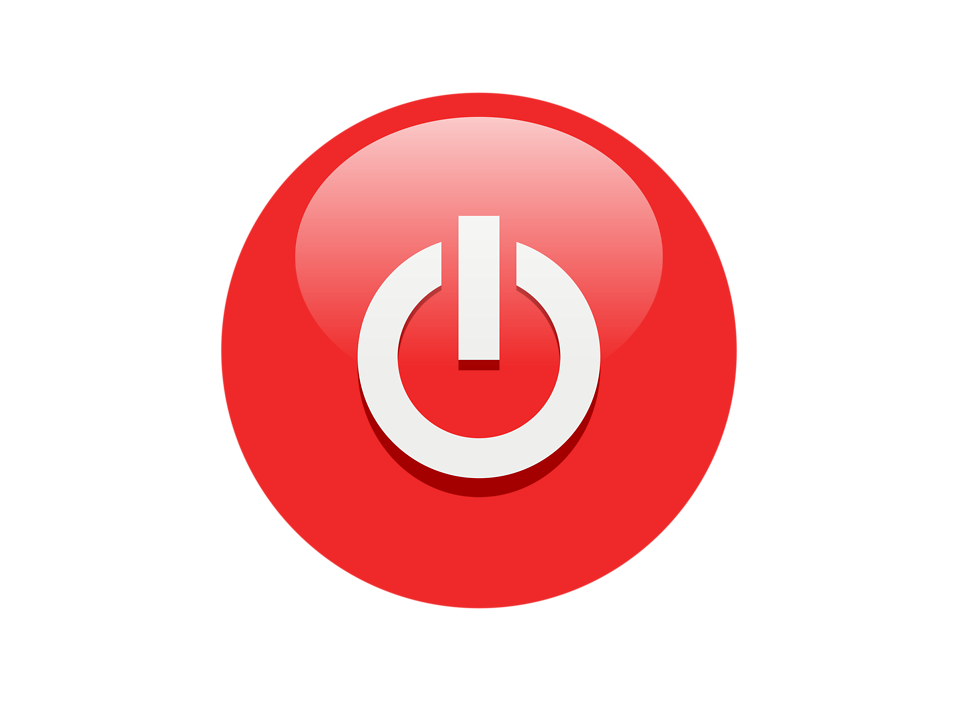 Red power button png. Icons vector free and