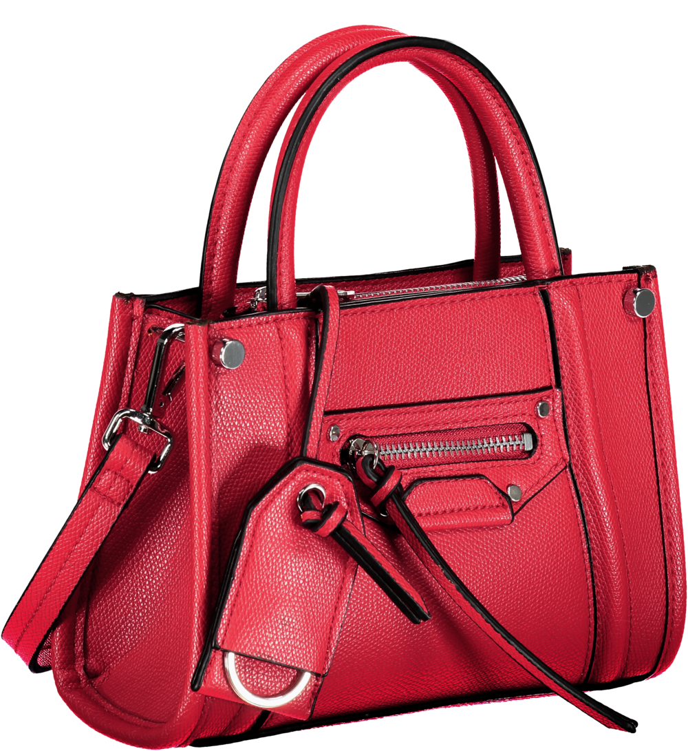 Red purse png. How to style and