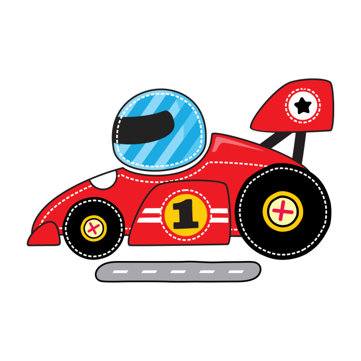 Red race car. Racing clipart png image