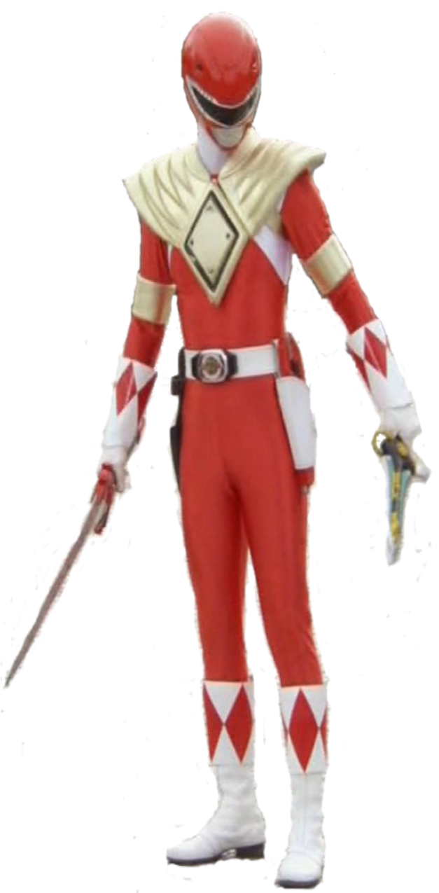 Red ranger png. Armored render by aurahero