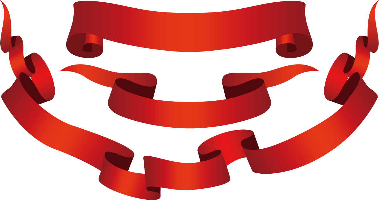 Blue combination download. Red ribbon banner png picture black and white stock