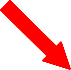 Red right arrow png. Down clip art at