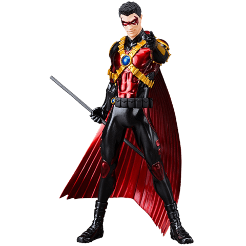 Red robin png. Dc comics new artfx
