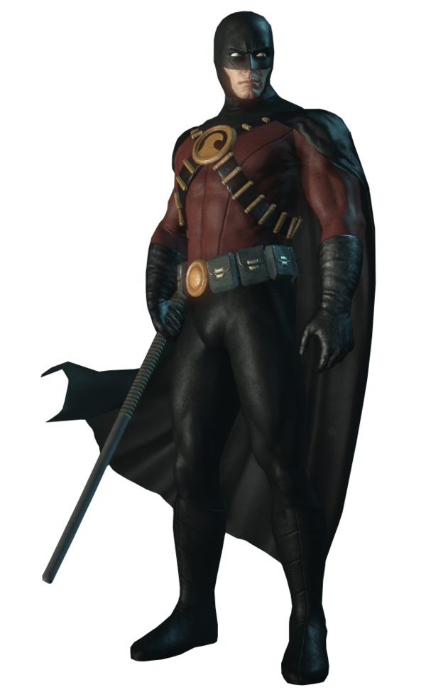 Red robin png. Arkham city by arkhamnatic