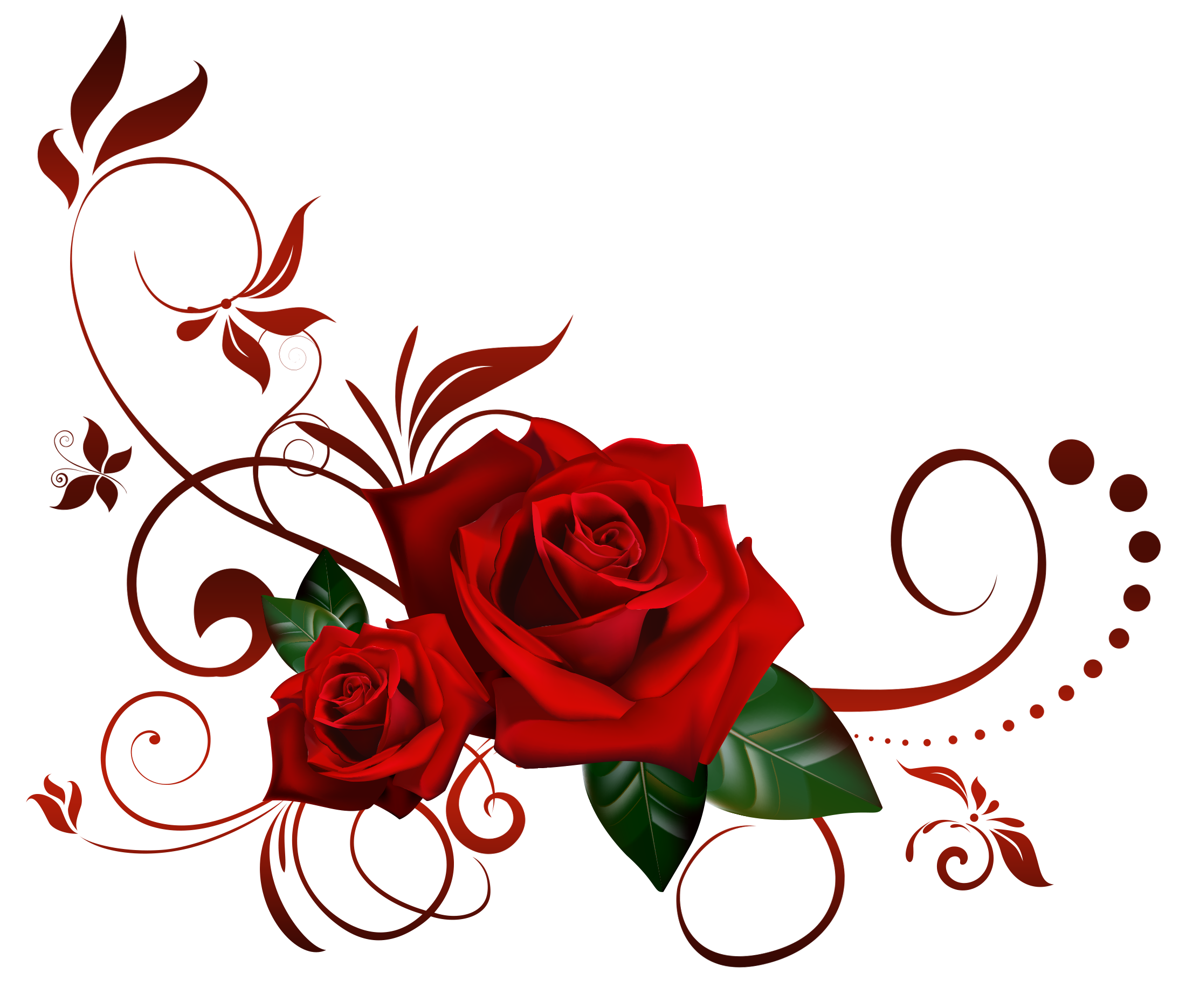 Red roses border png. A heart frame with