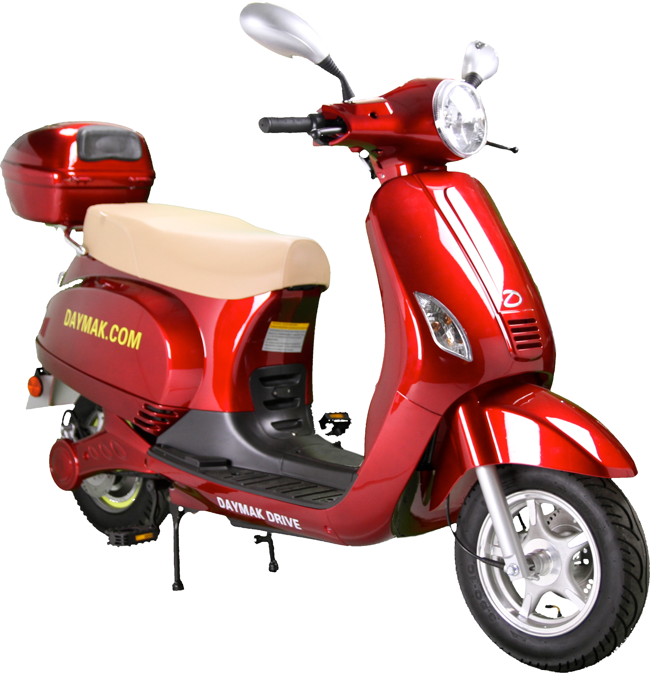 Red scooter. Hd png image clipart
