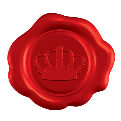 Red seal png. A special invitation for