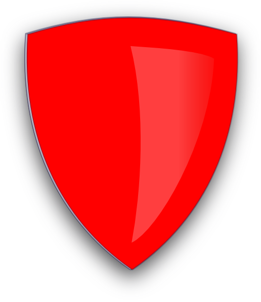 red shield png