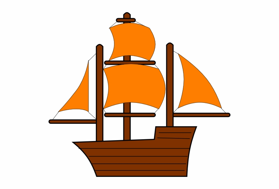 Red ship. Pirate clipart png clip