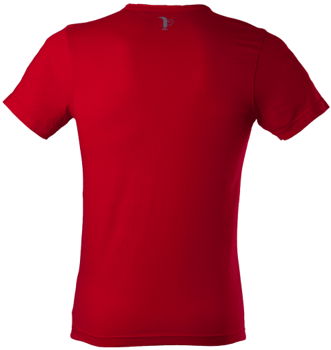 Red shirt png. Men s polo free