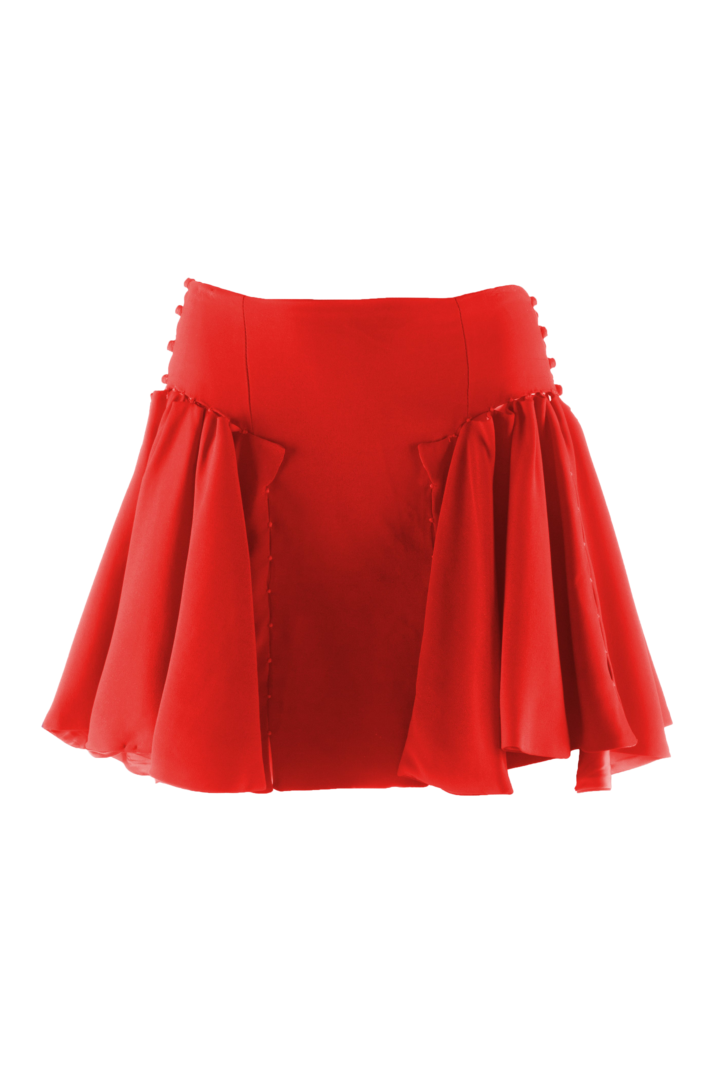 Red skirt png. Frills a w
