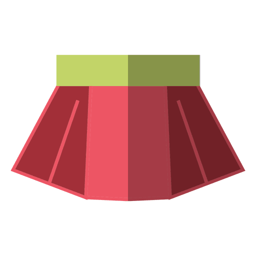 Red skirt transparent png. Or svg to download