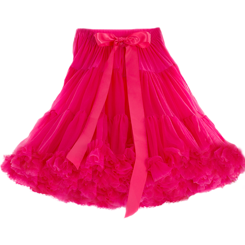 Red skirt transparent png. Hot pink petticoat oh