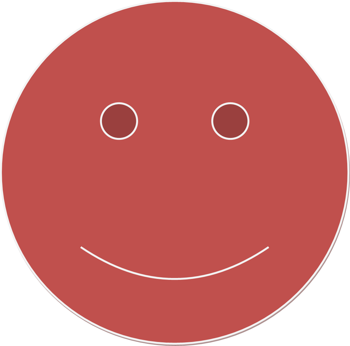 Red smiley face png. File wikimedia commons filered