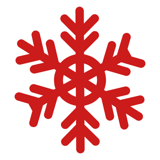 Red snowflake png. Xmas transparent svg vector