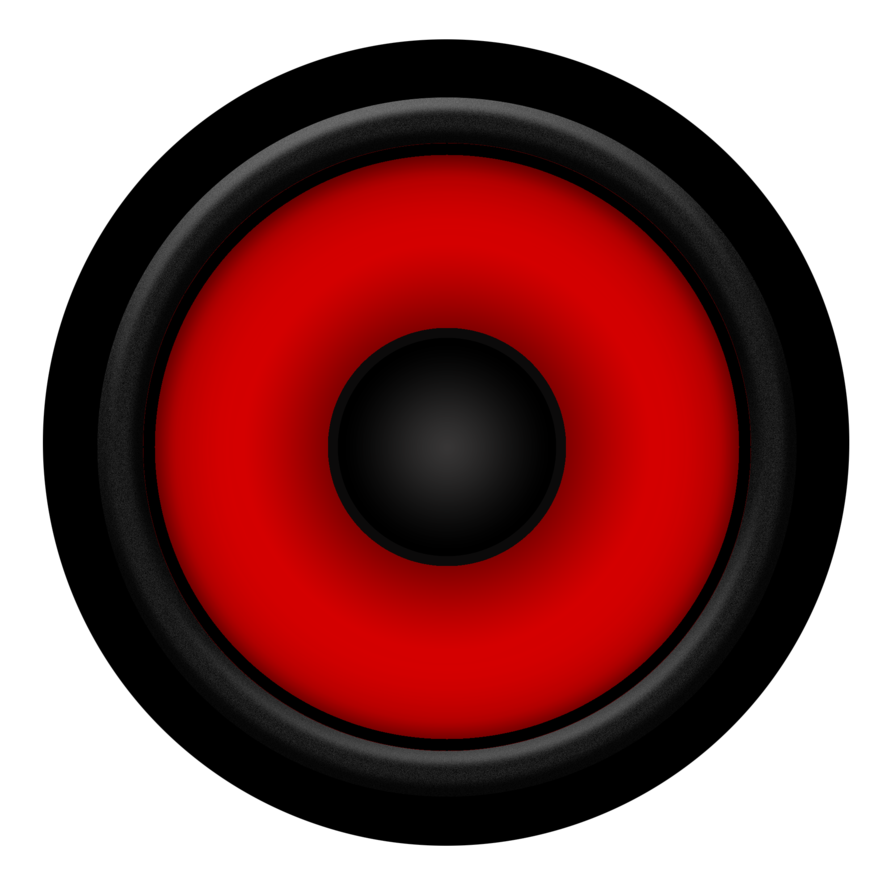 Red speakers png. Speaker by ratchetgeek on