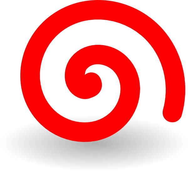 red spiral png