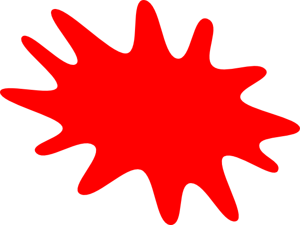 Tomato splat png. Red clip art at