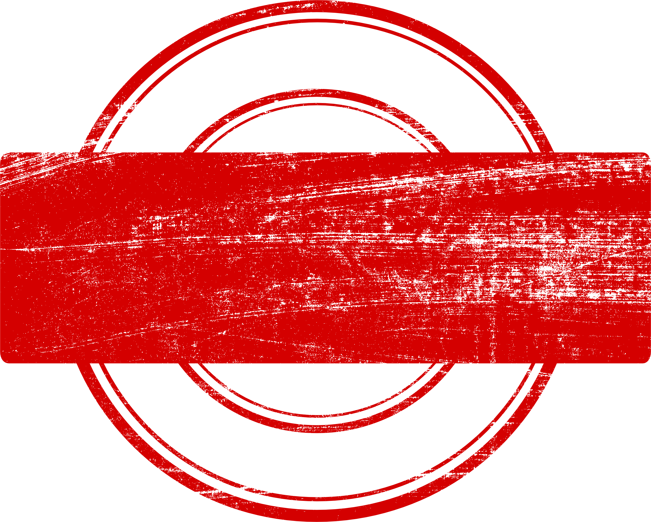 Red stamp png. Empty vector transparent